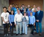 2017 Worster Research Fellows and Mentors with Bruce and Susan Worster